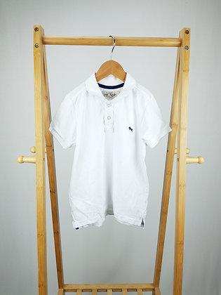 H&M white polo shirt 4-6 years