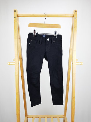 GAP black denim super skinny jeans 5 years