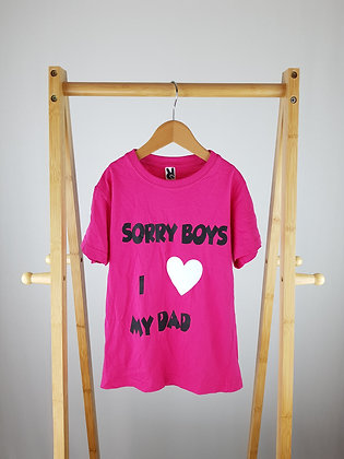 Roly sorry boys t-shirt 7-8 years