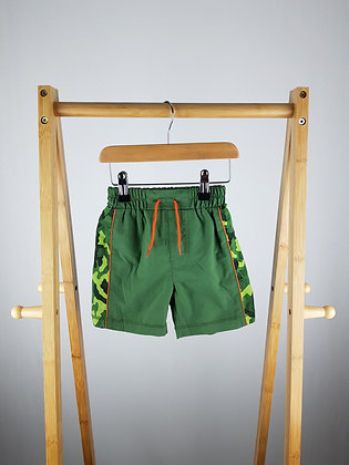 Mothercare camouflage swimming shorts 12-18 months