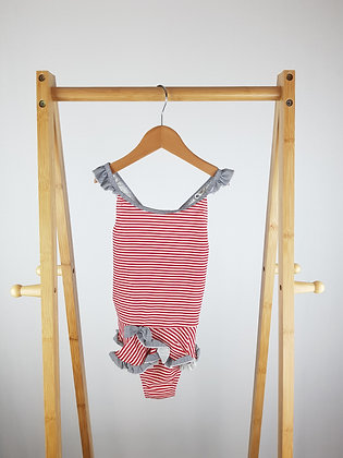 BHS striped swimsuit 6 years