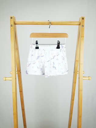 George unicorn pyjama shorts 2-3 years