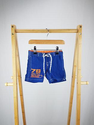 H&M blue shorts 1-2 years
