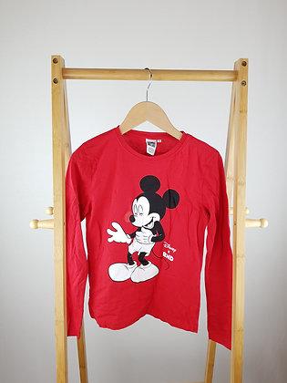 Disney Mickey Mouse RND long sleeve top 9-10 years