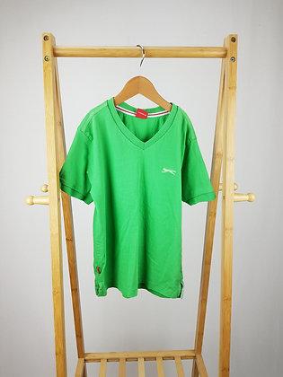Slazenger green t-shirt 7-8 years