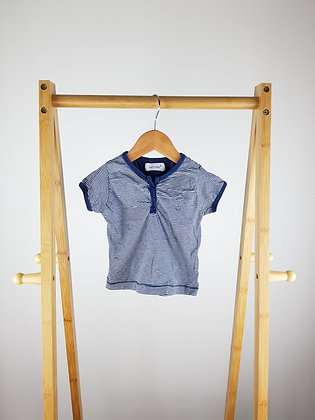 Early days navy t-shirt 6-12 months