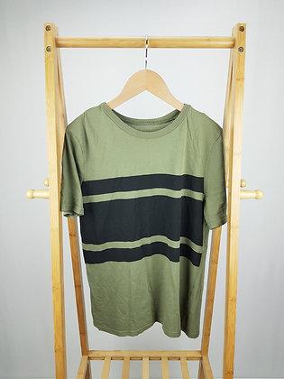 H&M khaki t-shirt 12-14 years