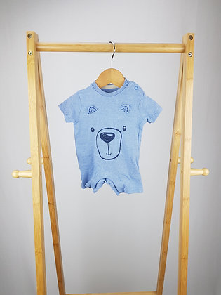 F&F teddy romper up to 1 month