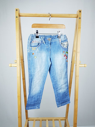 Next embroidered jeans 4-5 years