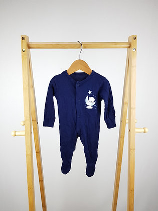 George sleepy bear  sleepsuit first size