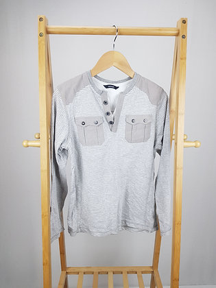 George buttoned long sleeve top 10-11 years