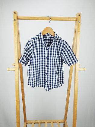 M&S checked shirt 5-6 years