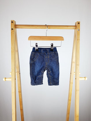 George jeans first size