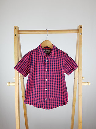 Primark checked shirt 4-5 years
