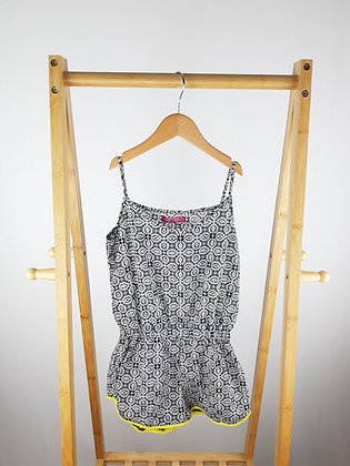 Young dimension patterned playsuit 9-10 years