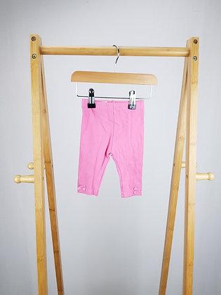 George pink leggings 0-3 months