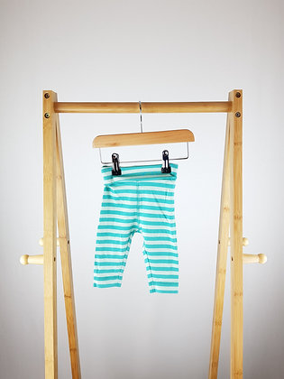 H&M striped joggers 2-4 months