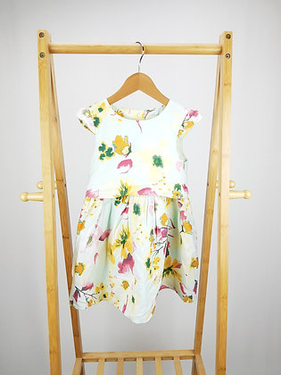 George floral dress 4-5 years