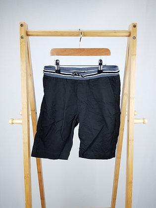 H&M black shorts 9-10 years