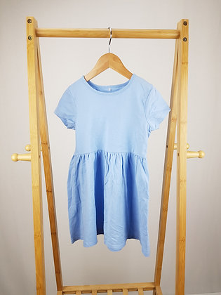 George blue dress 4-5 years