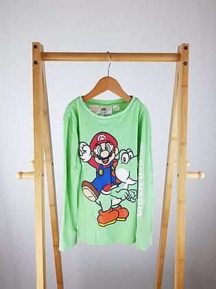 H&M Super Mario long sleeve top 6-8 years