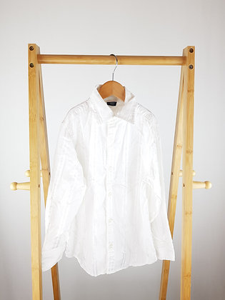 Next white formal shirt 8 years
