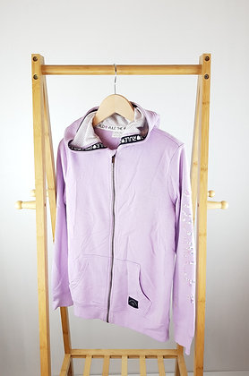 F&F lilac sequin zipped hoodie 13 years playwear