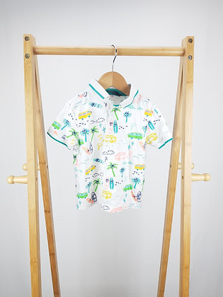 George holiday polo shirt 18-24 months