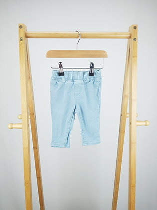 GAP blue denim jeans 6-12 months
