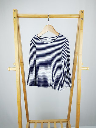 F&F striped ribbed long sleeve top 4-5 years