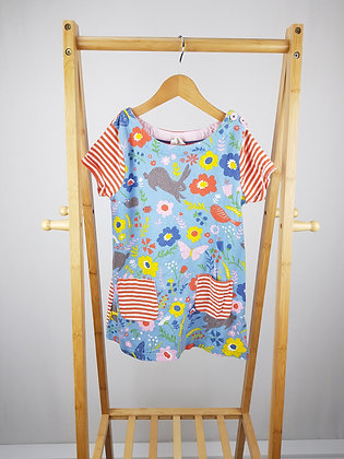 Mini Boden patterned top/dress 7-8 years