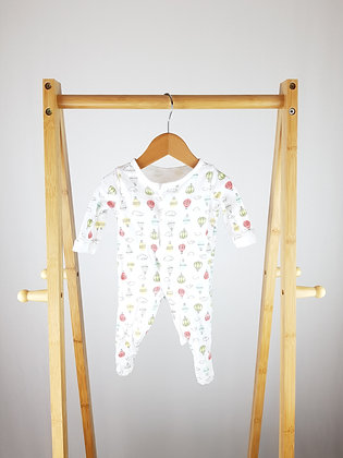 George hot air balloon sleepsuit first size