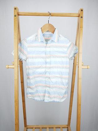 Bluezoo striped short sleeve shirt 9 years