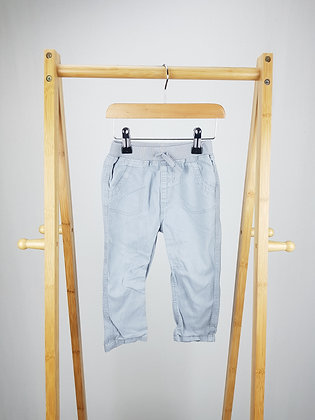 George grey trousers 12-18 months