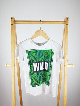 H&M wild t-shirt 8-10 years