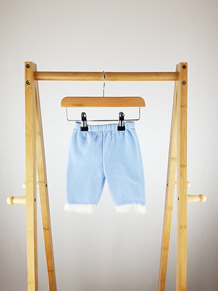 Unbranded blue joggers 0-3 months