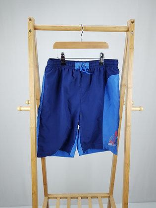 JJB blue swim shorts 13 years
