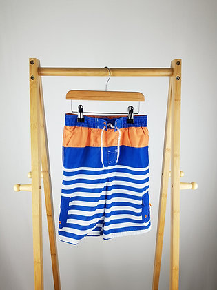George striped shorts 5-6 years