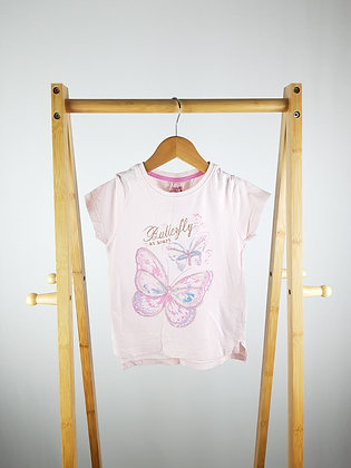 Young dimension butterfly t-shirt 5-6 years