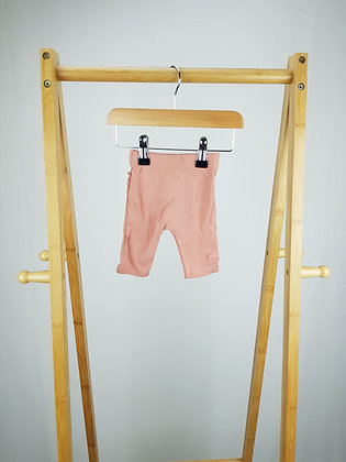George dusky pink frilled leggings first size