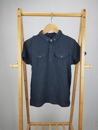 George grey polo shirt 10-11 years