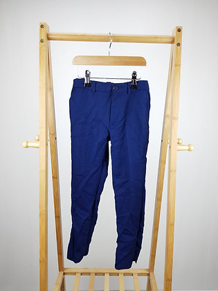 Matalan blue formal trousers 7 years