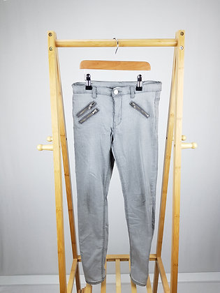 H&M grey jeans 11-12 years