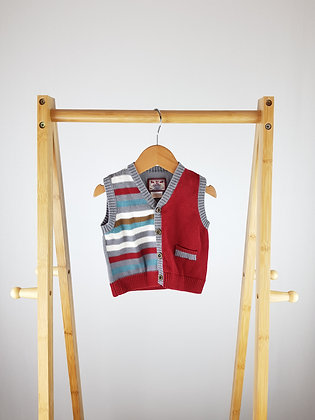 Mamas&Papas knitted buttoned vest 3-6 months