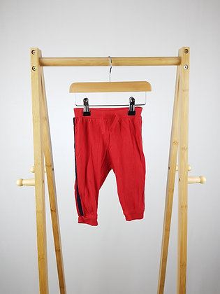 Hop red joggers 9-12 months