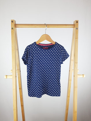 F&F heart print t-shirt 4-5 years