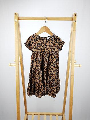 Next leopard  dress 18-24 months