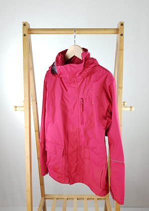 Trespass pink weather-proof jacket 11-12 years