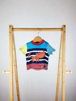 George tiger t-shirt first size