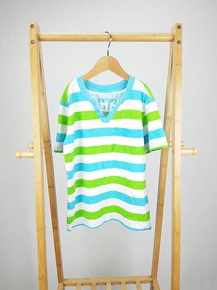Cherokee striped t-shirt 8-9 years